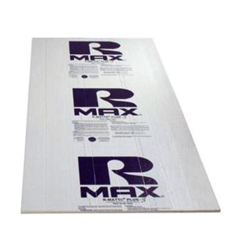 Home Depot Foam Board by Thermasheath Rmax Thermasheath 3 1 In X 4 Ft X 8 Ft R 6