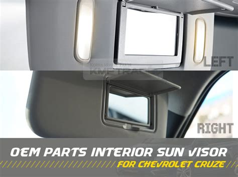 Oem Chevy Interior Parts by Oem Interior Sun Visor Shade Lh Rh 2ea Gray For