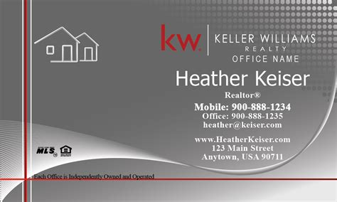 Keller Williams Realty Business Card Templates by Keller Williams Realty Business Card Templates