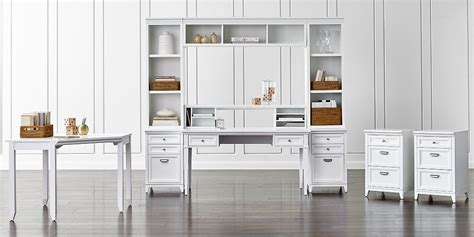 modular home office furniture collections modular home office collections crate and barrel