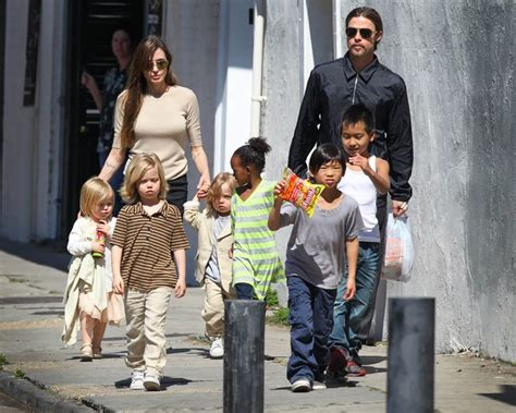 New Photo Of The Pitt Family by And The Join Brad Pitt In New Orleans