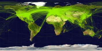 Flight Route Map by File World Airline Routemap 2009 Png Wikipedia