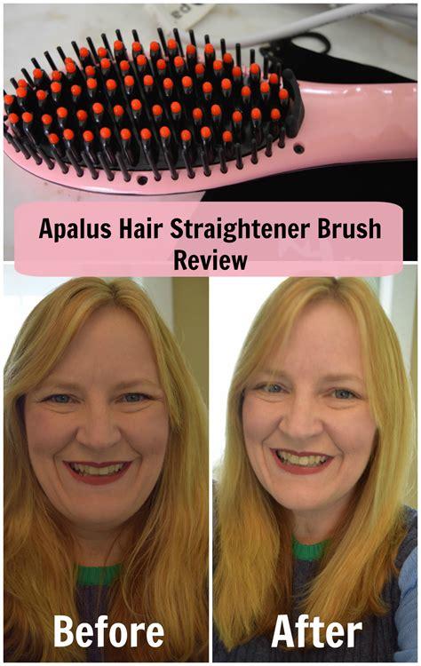 apalus brush hair straightener review apalus hair straightening brush easier than a flatiron