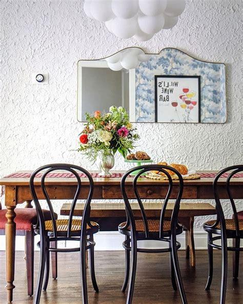 sarah montgomery design eclectic dining room  custom