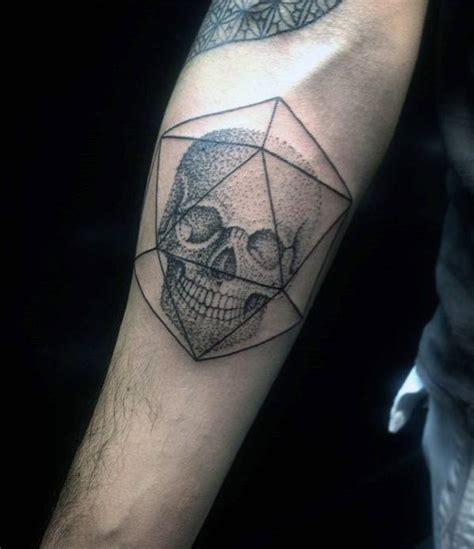 50 small skull tattoos for mortality design ideas
