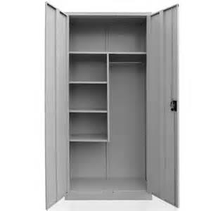 Metal Wardrobe Cleaning Supplies Cabinet Steel Broom Closet Linen