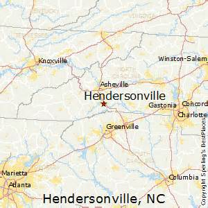 best places to live in hendersonville carolina
