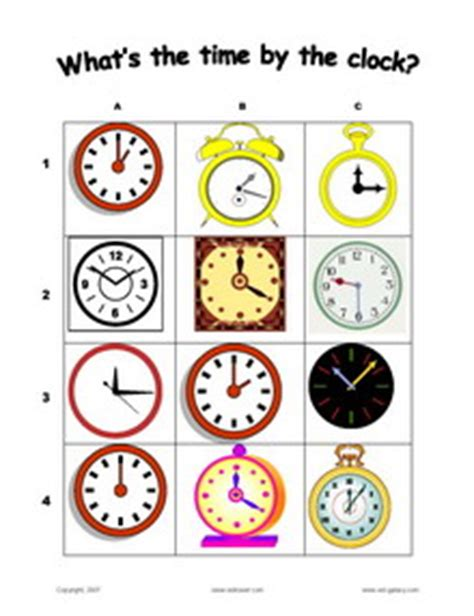 Whats The Time Mr Wolf Ebooke Book esl vocabulary telling the time