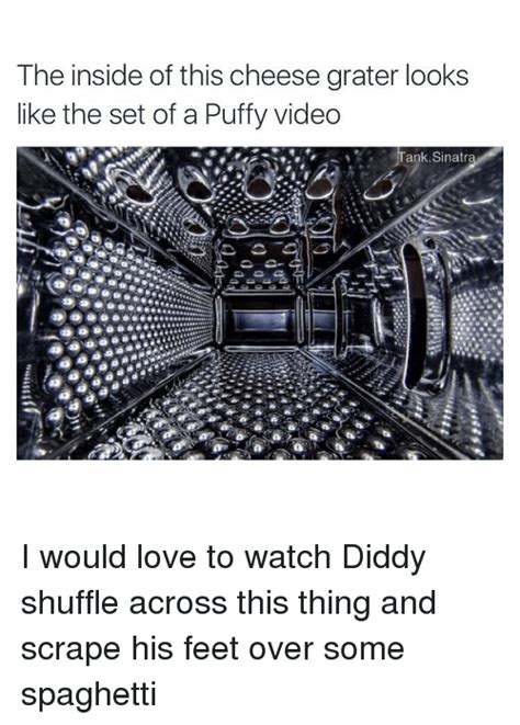 Cheese Grater Meme - the inside of this cheese grater looks like the set of a
