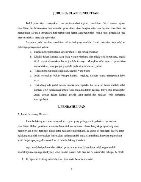 format penulisan proposal bisnis plan contoh identifikasi masalah dalam makalah penelitian