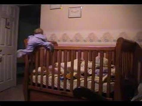 Baby Savannah Climbing Out Of Crib Youtube Babies Climbing Out Of Cribs