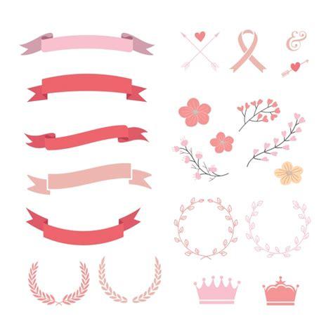 imagenes listones rosas colecci 243 n de lazos rosas y rojos descargar vectores gratis