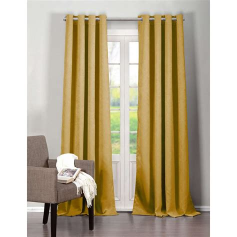 black yellow curtains home decorators collection plazzo 84 in l cotton drapery