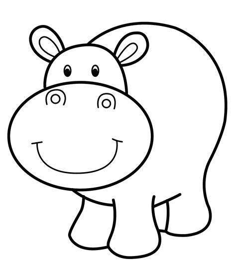 free coloring pages hippo hippo coloring pages printable free coloring sheets