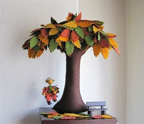 Tree Of Handmade - diy creative handmade felt trees from template
