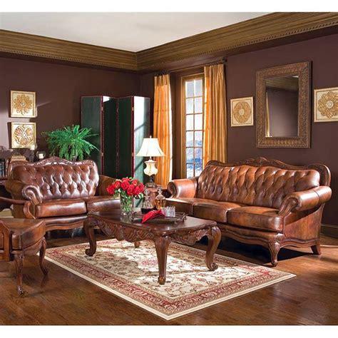 Living Room Sets by Leather Living Room Set Coaster Furniture 5