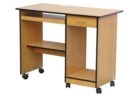 Impressive On Puter Desk With Wheels With Office Table Office Desk With Wheels