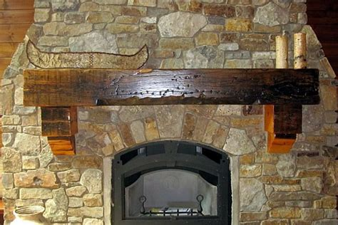Reclaimed Wood Fireplace Mantels by Reclaimed Wood Mantels Mantel Pine Mantel Pine