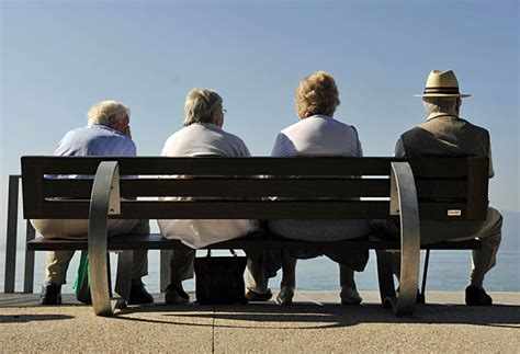 person on bench census shows minnesota s population aging minnesota