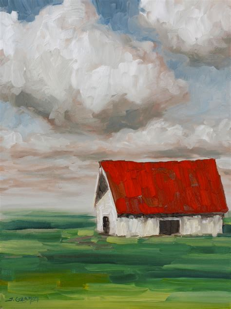 acrylic painting lesson ideas expressionist barn acrylic painting lesson tim gagnon