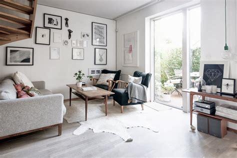 styl skandynawski living room w szwedzkim stylu