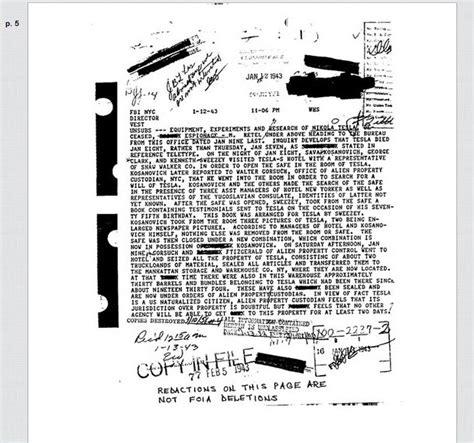 Nikola Tesla Research Paper Did The Fbi Confiscate Nikola Tesla S Papers