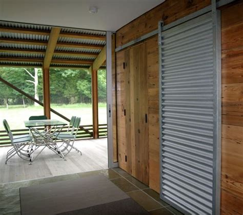 17 Best Images About Corrugated Metal Barn Door On Steel Sliding Barn Doors