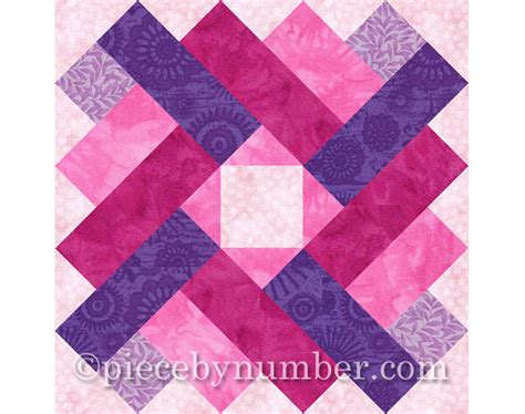 Square Patchwork Patterns - siena square quilt block pattern paper pieced quilt patterns