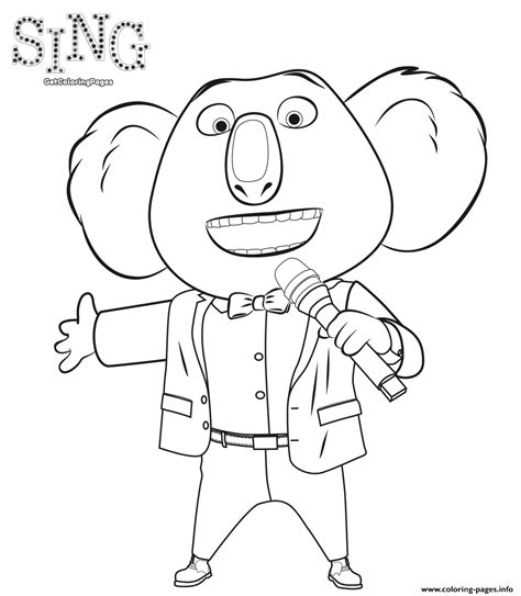 printable coloring pages for cing sing 2016 movie coloring coloring pages printable