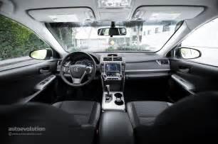 2014 Toyota Camry Interior 2014 Toyota Camry Review Autoevolution