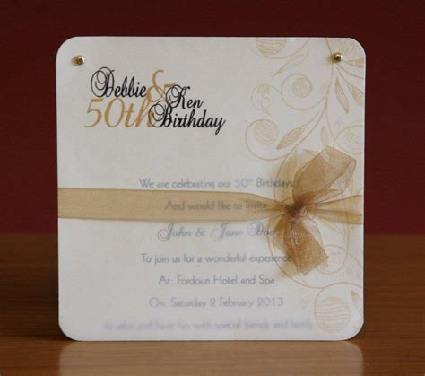 Handmade 50th Birthday Invitations - 58 best bday images on 50 birthday