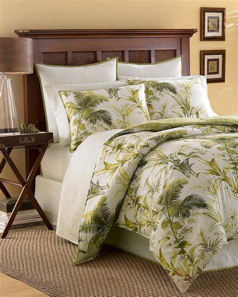 tommy bahama queen comforter island botanical 4 piece queen comforter set tommy bahama