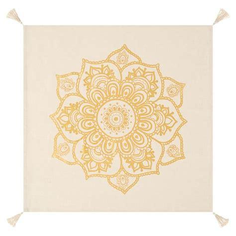 Mandala Gold gold mandala tapestry pbteen