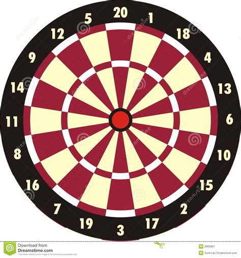printable dart board targets dart board royalty free stock photography image 2965867