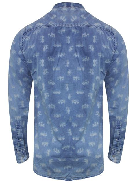 Light Blue Denim Shirt by Lawman Pg3 Light Blue Denim Shirt K Saddle 10