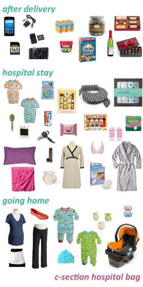 25 best ideas about hospital bag list on