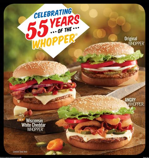 burger king 055 whopper quiznos free cookie and more