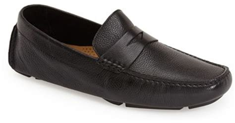 cole haan howland loafer cole haan howland loafer in black for lyst