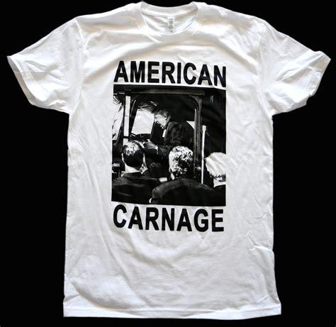 Tshirt Minieset Driver White Original donald american carnage truck shirt white 183 1 800 usa carnage 183 store powered by