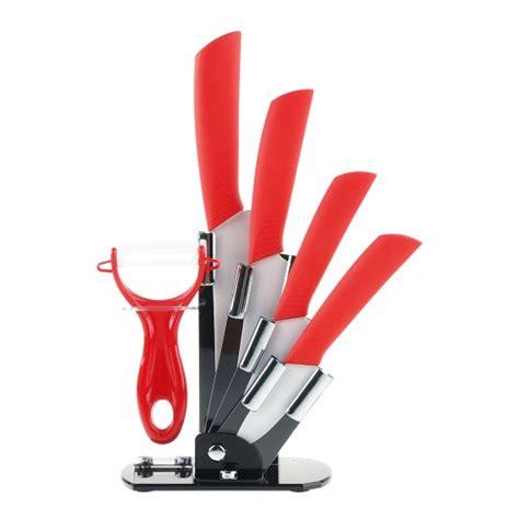 6pcs ceramic knives kitchen knife set with peeler shopping shopping square