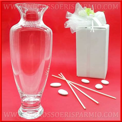 vasi vetro ingrosso vasi in vetro trasparente bottiglie porta profumo stock