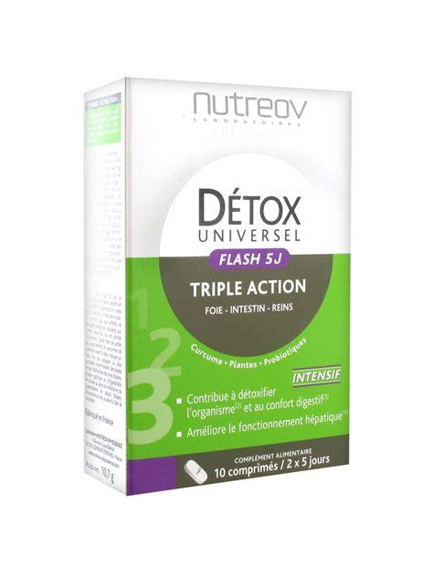 Detox 5 Prices by Nutr 233 Ov D 233 Tox Universel Flash 5j 10 Tablets