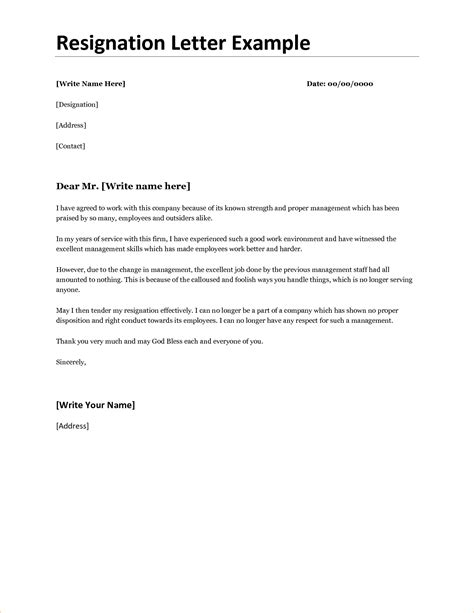 writing resignation letter sample five paragraph essay template
