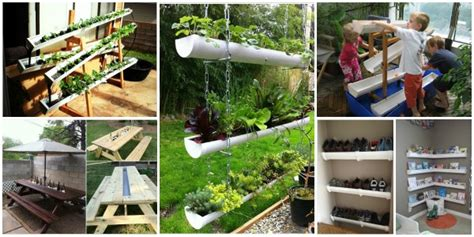 10 fabulous diy rain gutter projects for home and garden