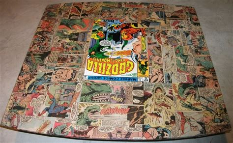 decoupage comics projects artist show comic vine