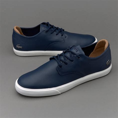 navy shoe lacoste espere 117 navy shoes trainers