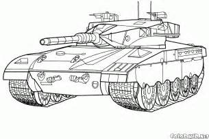 color tanks coloring page battle tank israel