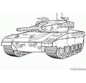 Coloriage  Battle Tank Isra&235l