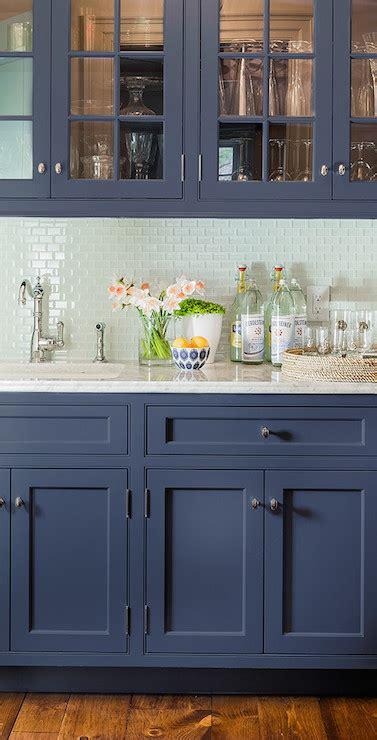 blue kitchen cabinets transitional kitchen farrow