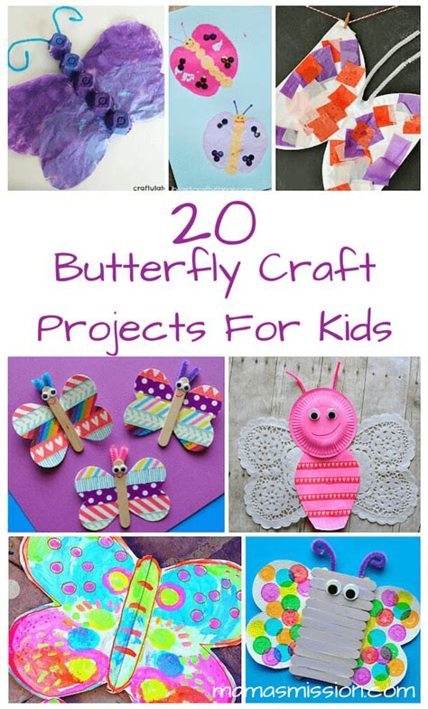 butterfly craft ideas for 20 butterfly craft projects for to make